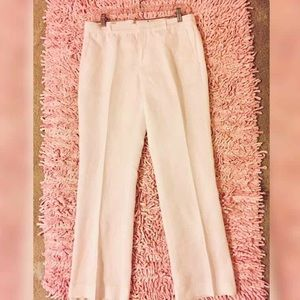 ~NWOT~ White Linen Banana Republic Pants